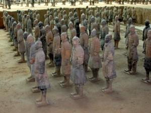 Cina, Xi'An l'esercito di terracotta