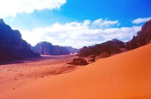 Giordania, il deserto Wadi Rum