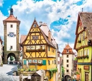 Norimberga e via Romantica