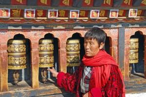 Bhutan, preghiera