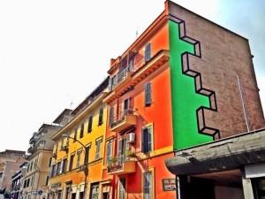 Roma, le case di Torpignattara