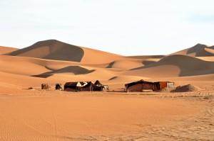 Marocco, Erg Chigaga accampamento