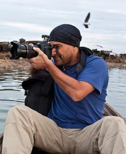 Il fotografo Vittorio Scioscia