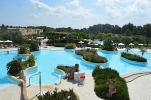 Iberotel, il parco piscine