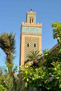 Marrakech, moschea El Mansourt