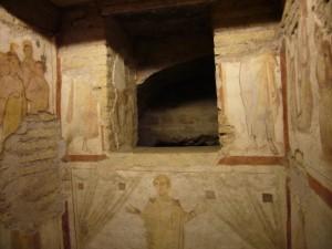 Roma, casa romana al Celio