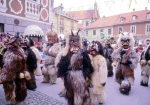 Slovenia, Carnevale, le maschere Kurent