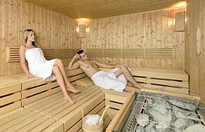 Umago, sauna