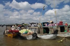 Vietnam Cai Rang, mercato galleggiante