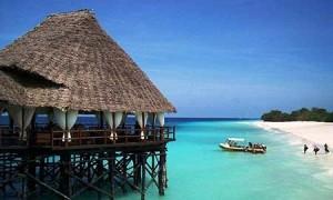 La meravigliosa spiaggia di Zanzibar