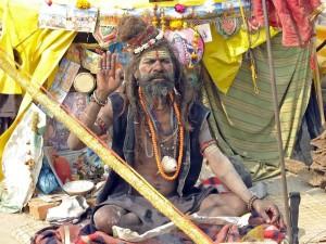 India, Kumbha Sadhu