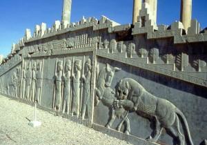 Iran, scalinata a Persepoli