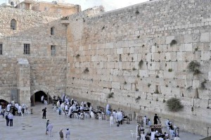 Israele, il Muro del Pianto a Gerusalemme