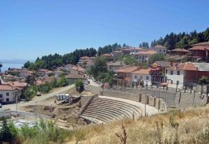 Macedonia, Ohrid, anfiteatro