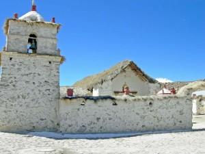 Cile, chiesa rurale