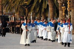 Croazia, Hevar, riti della settimana santa