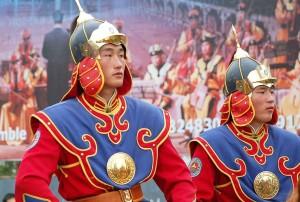 Mongolia, sfilata alla festa di Nadaam