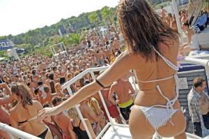 Croazia, discoteca Acqarius