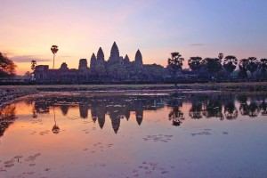 Cambogia, Angkor al tramonto