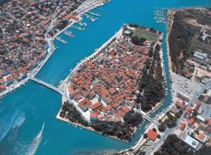 Corazia, veduta aerea di Togir