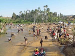 Madagascar, tutti al fiume