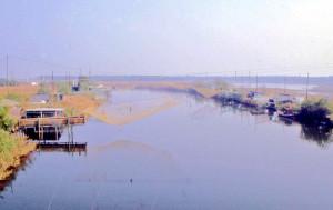 Delta del Po, canale