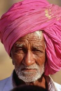 Karnataka, uomo con turbante