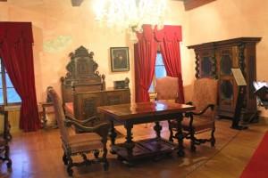 Croazia, l'interno del castello Trakoscan