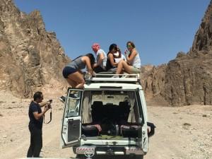 Sinai, gita nel deserto