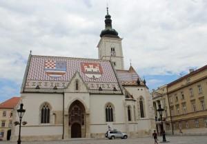 Zagabria, chiesa di San Marco