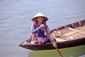 Vietnam, in barca sul Mekong