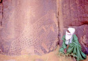 Algeria, sito archeologico Tin Eresou