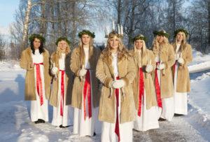 Svezia Coro di Santa Lucia