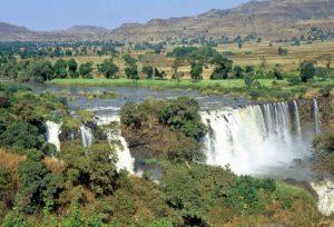 Etio Nilo Azzurro cascate