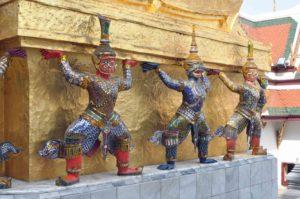 thai02m Bangkok, sculture