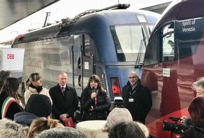 Inaugurazione treno 1m